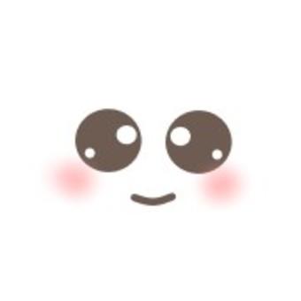 面對微笑微笑白眼睛