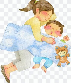 Parents who take a nap
