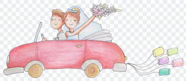 新娘的车01