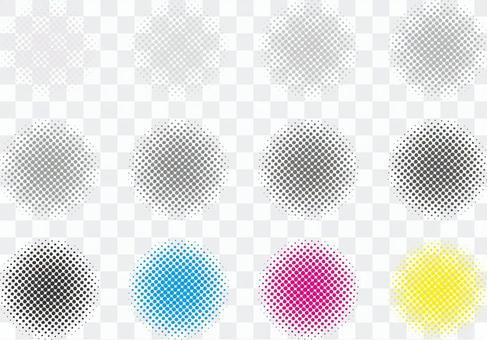 免費免費材料顏色半色調點圖案