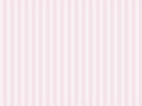 溫柔的條紋·垂直條紋·粉紅色