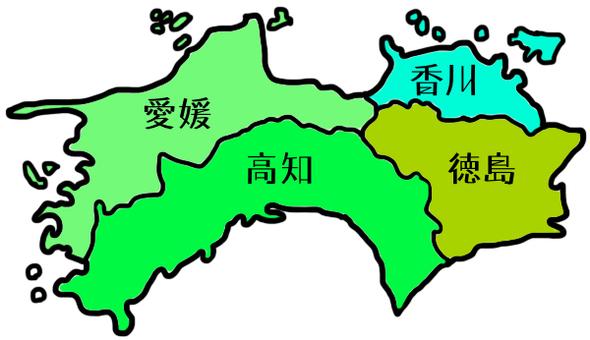 Shikoku Maps