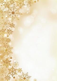 聖誕節_金紋理_長度2187