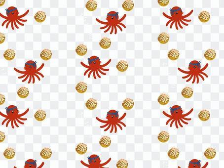 6種日式章魚燒圖案