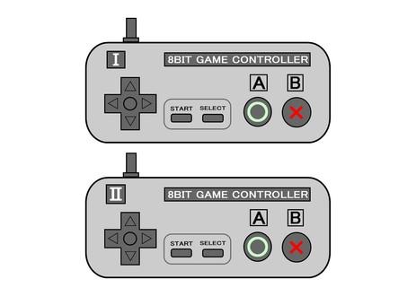 8位遊戲機控制器