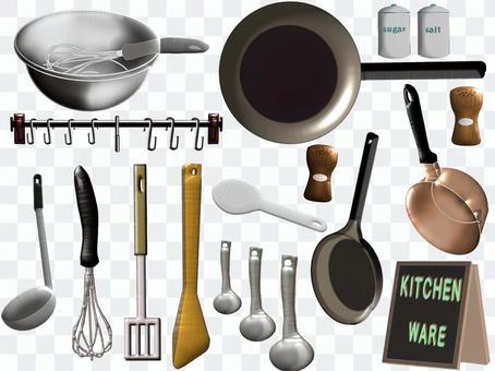 廚房用具(插圖集)