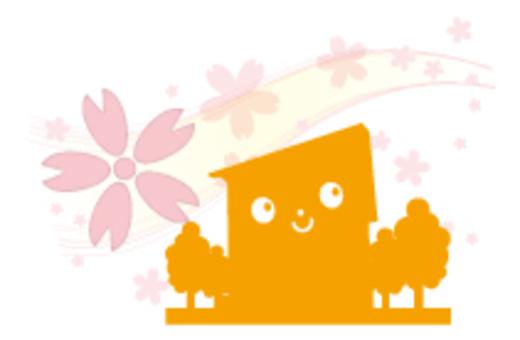 Cherry blossom dwelling _ orange
