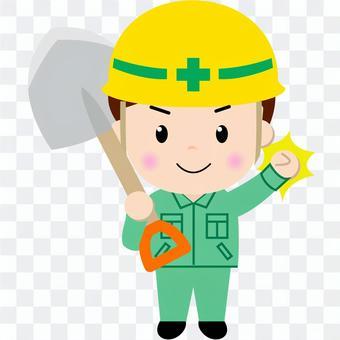 Construction worker (scoop)