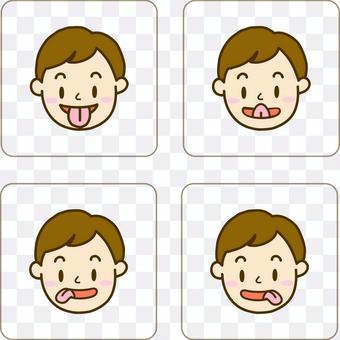 舌頭體操卡