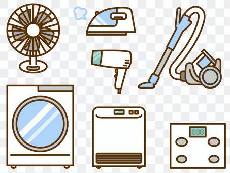 家用電器(風扇,洗衣機,吸塵器,電吹風