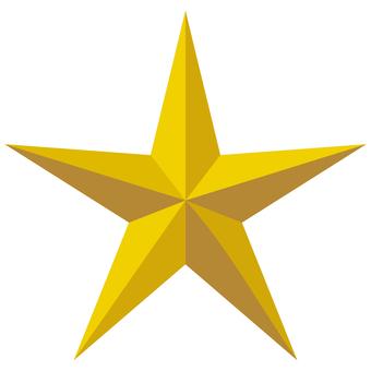 Star Sharp star Rich solid