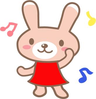 跳舞的兔子
