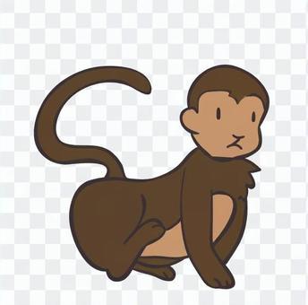 桃太郎的猴子