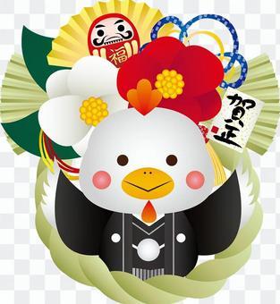 腰帶裝飾與雞刺繡風格