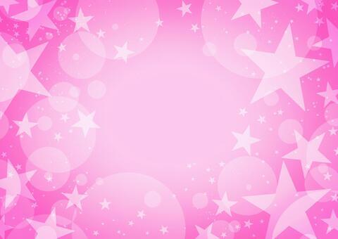 コズミックスターの背景 ピンク