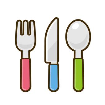叉子、刀子、勺子