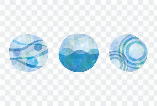 水的三個圖像