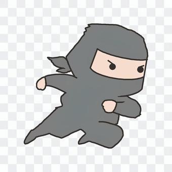忍者(跑步)
