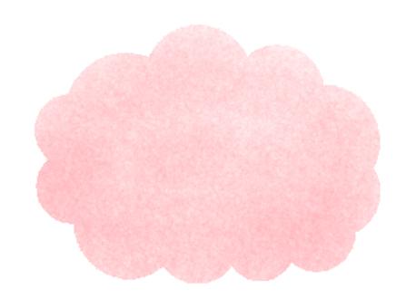 雲框架(粉紅色)