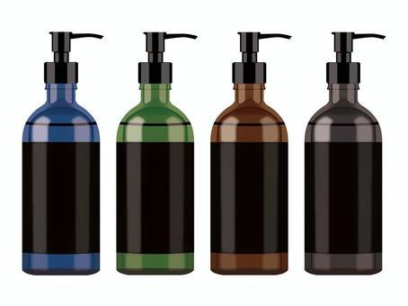 各種顏色的瓶子②