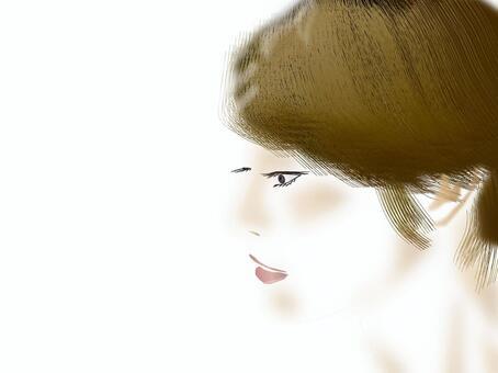 Women's profile profile series 06