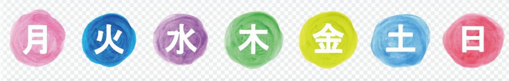 星期幾(漢字)