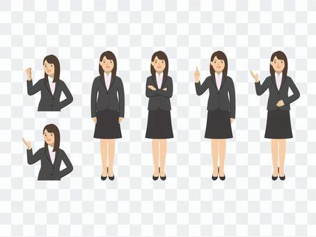 Business woman - set 5