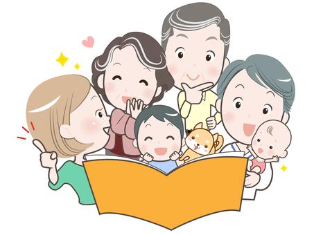 家庭-6 人-目錄