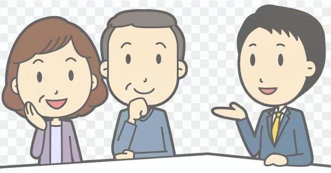 男職員客戶服務-中年夫婦