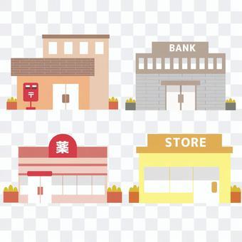 公共、商業施設