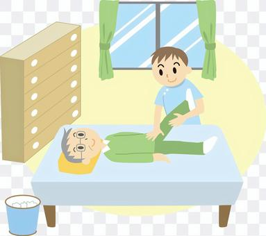 Visit nursing care 02