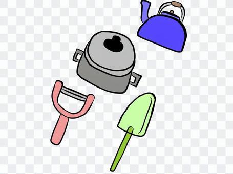 Kitchen utensils 4