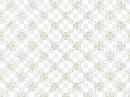 Antique style pattern ⑭ Beige
