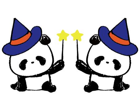 Child Panda-Halloween 2