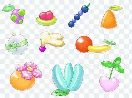 架空のフルーツ