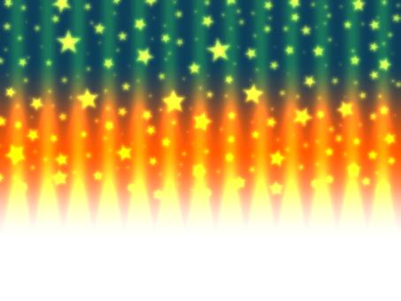萬聖節彩色星星 x 條紋