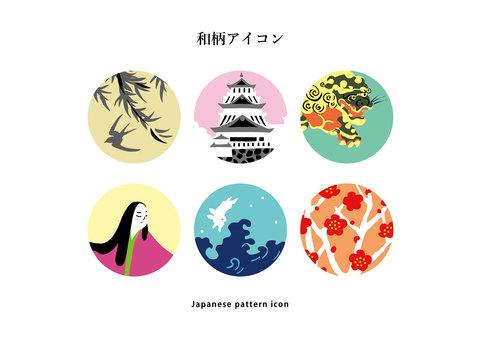 日本模式圖標