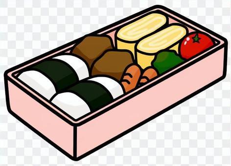 便當盒(粉紅色)