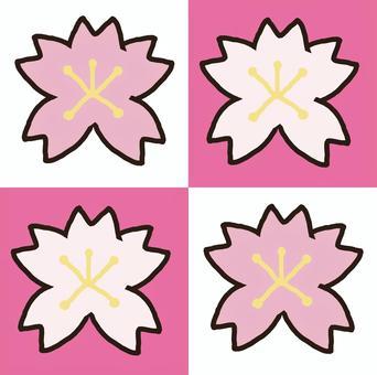 桜 背景素材