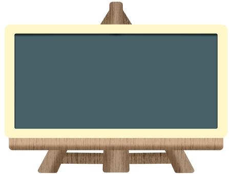 Blackboard & easel frame