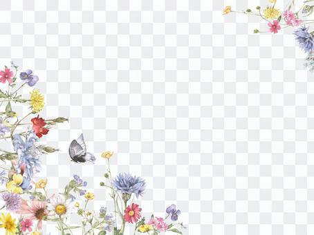 花框架177  - 勾形宜人的花園花框