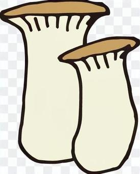 버섯 (새송이 버섯 2 개)