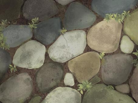 Old cobblestone background illustration