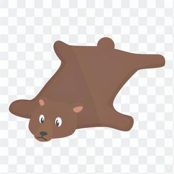 Bear rug