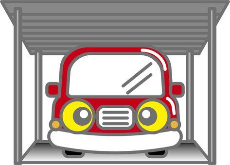 Car in the carport