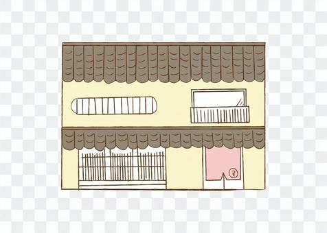 京都的聯排別墅