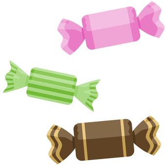 Candy Square 糖果 3 件套