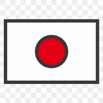 日本flag_pop
