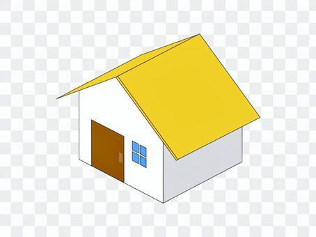 房子家族新建二手黃色
