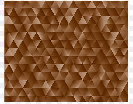 Brown geometric pattern
